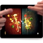 Fruit Ninja on iPad