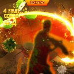 Fruit Ninja Kinect game play