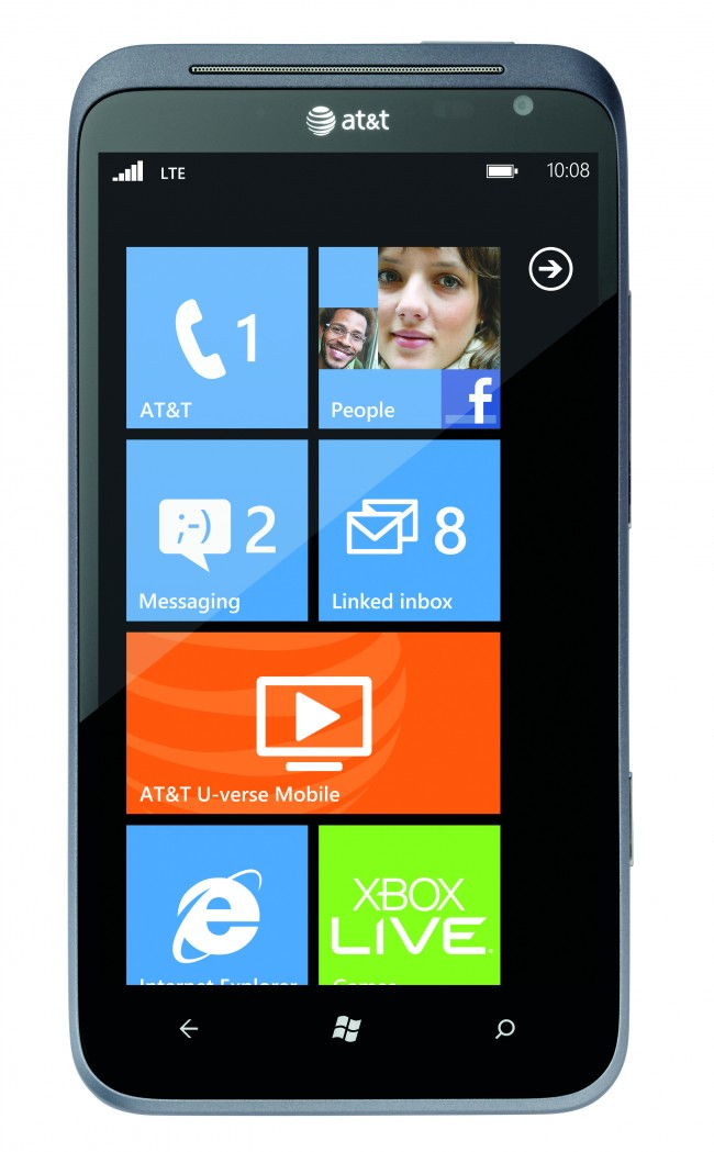 HTC Announces Titan II Windows Phone [CES 2012]