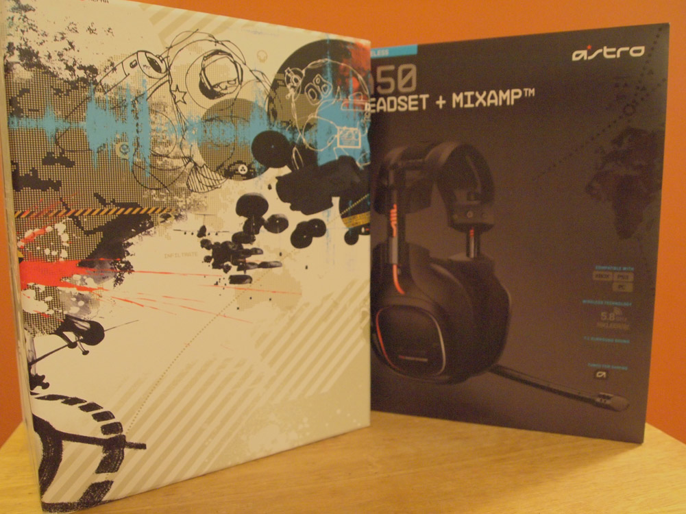 Astro Gaming A50 Gaming Headset - A 50 Gamer Headset