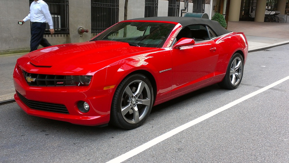 2012 Chevrolet Camaro 2SS Convertible: It's a Camaro, Nuff Said! | G ...