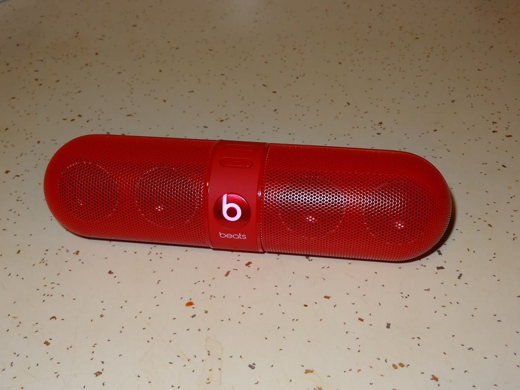 Beats by Dre Pill - Speaker - G Style Magazine Review - Wireless Speaker 1 - Bluetooth