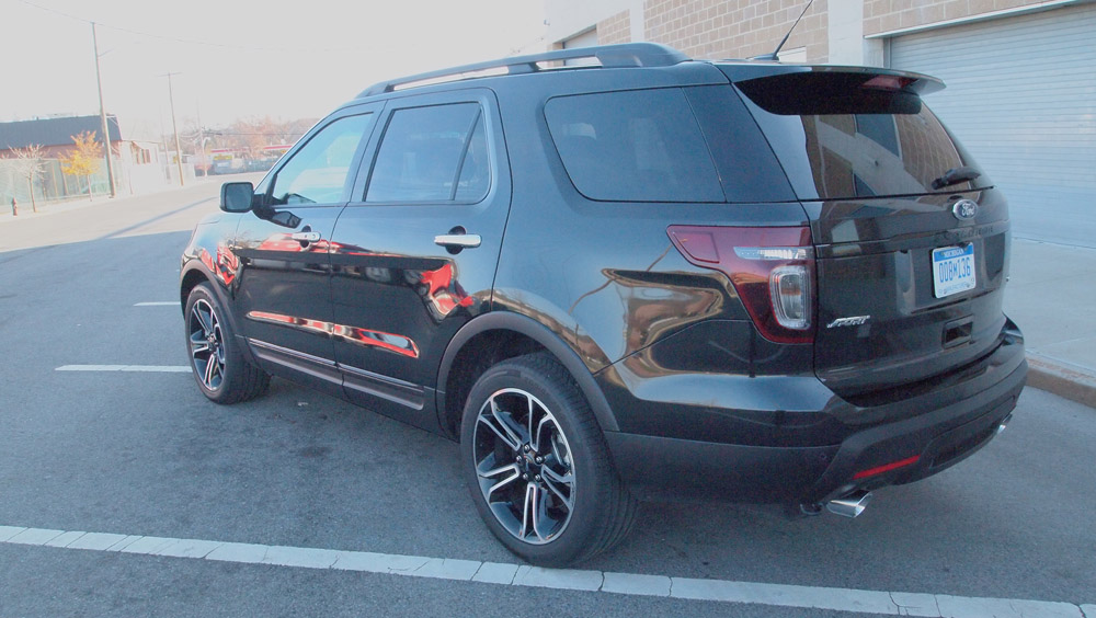 ford is a great brand and if you are looking for a decent suv you could do no wrong with the explorer sport - Ford Explorer 2012 Black