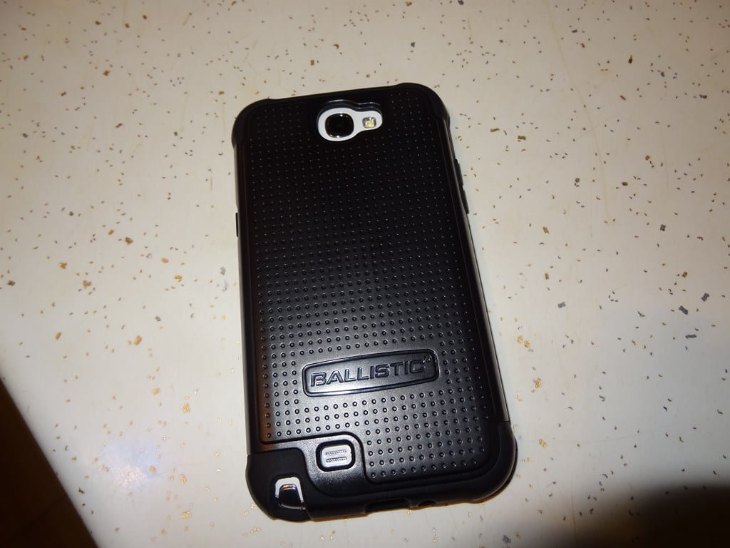 Samsung Galaxy Note II - Shell Gel Ballistic Case
