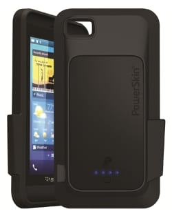 PowerSkin Launches First Battery Case for BlackBerry Z10 - G Style Magazine 2