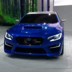 New York International Auto Show - G Style Magazine - Subaru WRX Concept Car Front Exterior