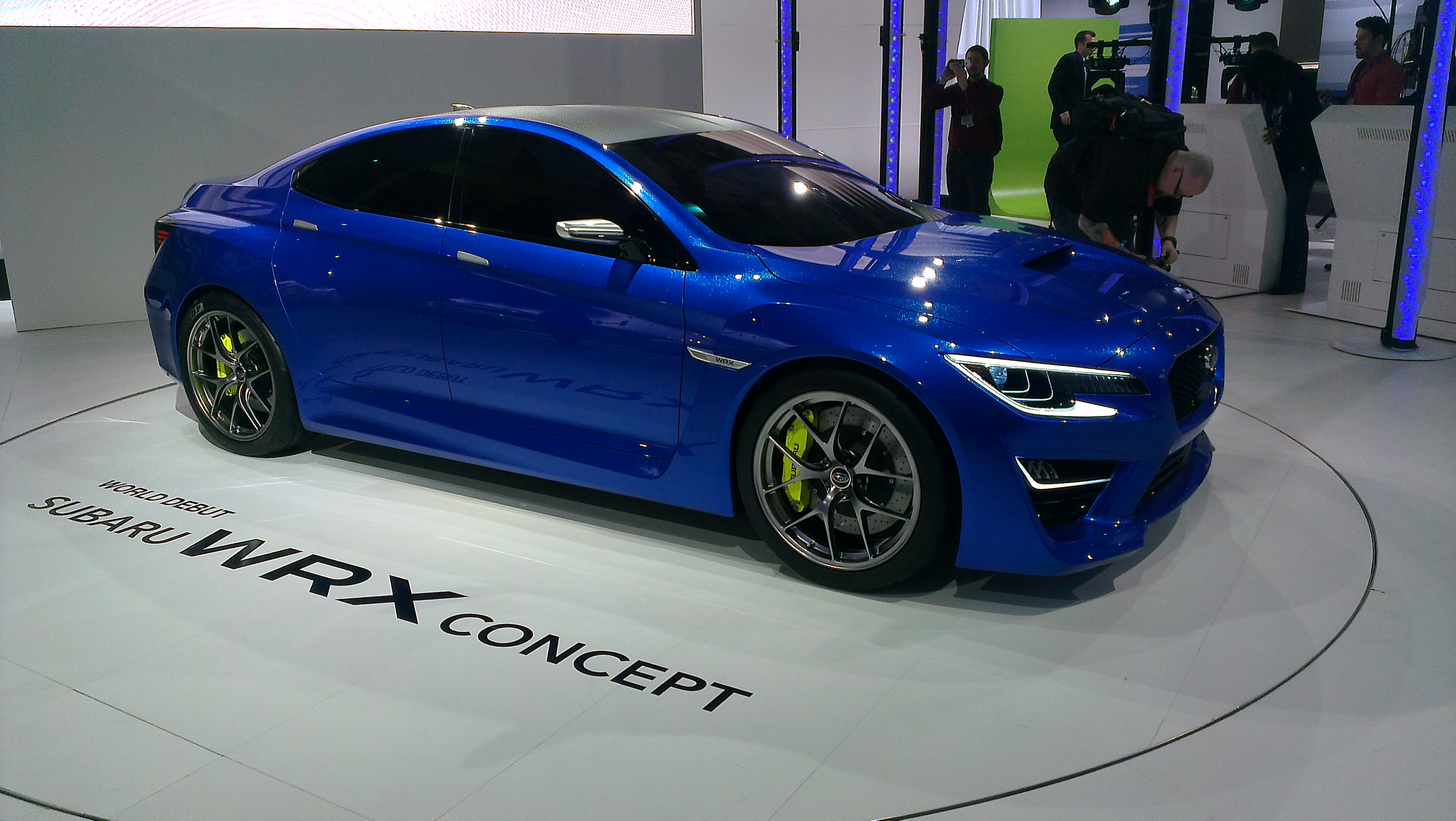 New York International Auto Show - G Style Magazine - Subaru WRX Concept Car