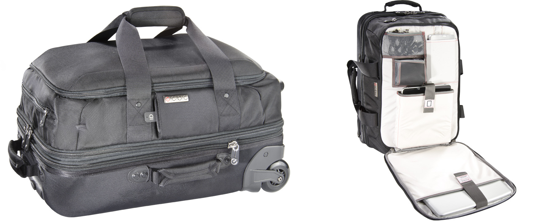 Rolling Luggage Backpack | Frog Backpack