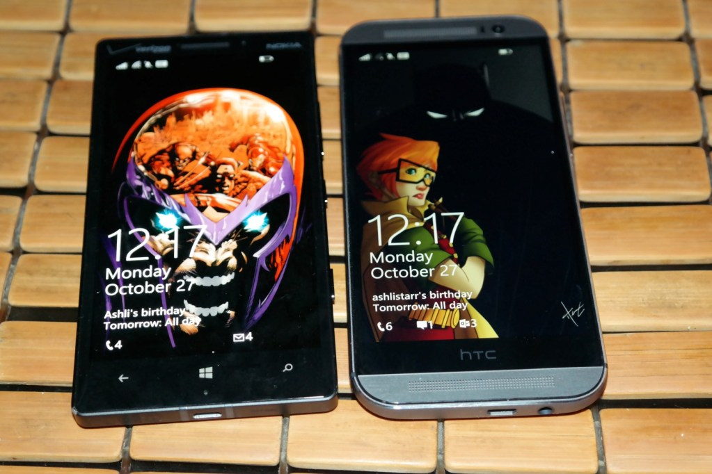 HTC One M8 for Windows vs. Nokia Lumia Icon: Which Reigns ...