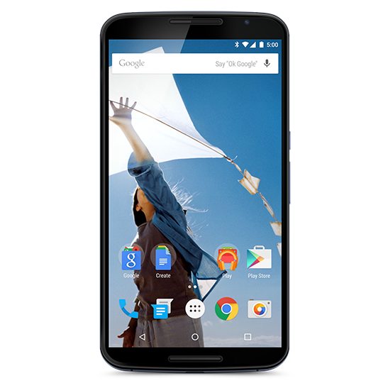 Top Smartphones Holiday Gift Guide (3) - Google Nexus 6 (by Motorola)