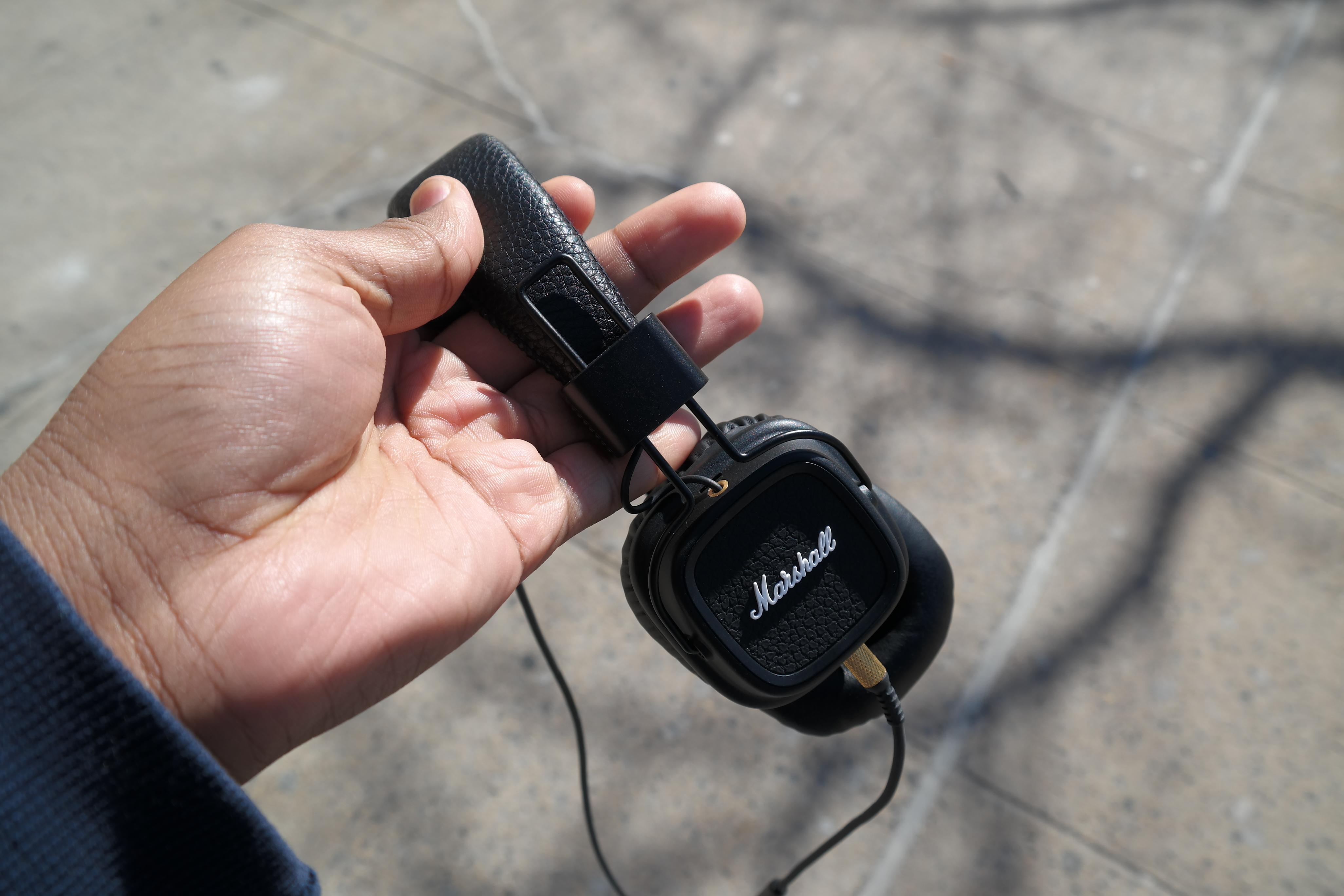 Best Novelty Travel Portable On-Ear Foldable Headphones Birthday Party Diamond Pattern Blue - 40 Forty