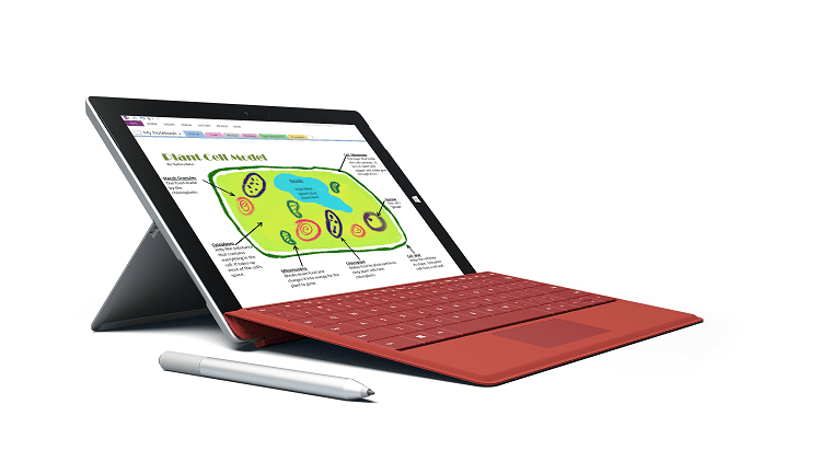 Surface 3 Red
