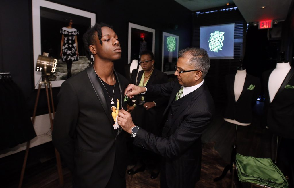 Hip Hop artist Joey Bada$$ has a damn good time, with a touch of class, at an event for MTN DEW BLACK LABEL at Parlor, on Thursday, April 14, 2016 in New York. MTN DEW BLACK LABEL is A DEEPER DARKER DEW that's now available nationwide. (Jason DeCrow/AP Images for MTN DEW BLACK LABEL)