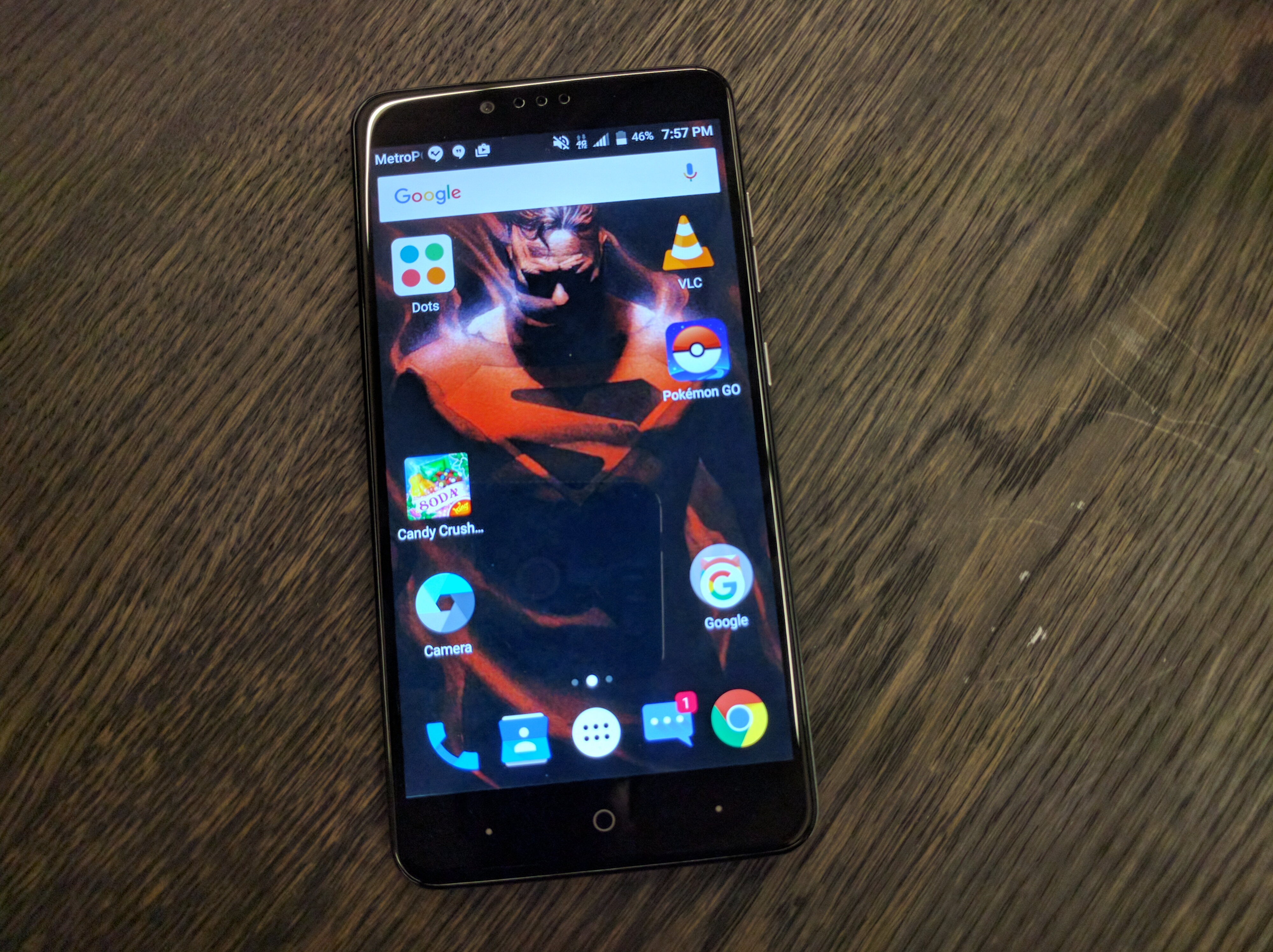 zte max pro review the first time