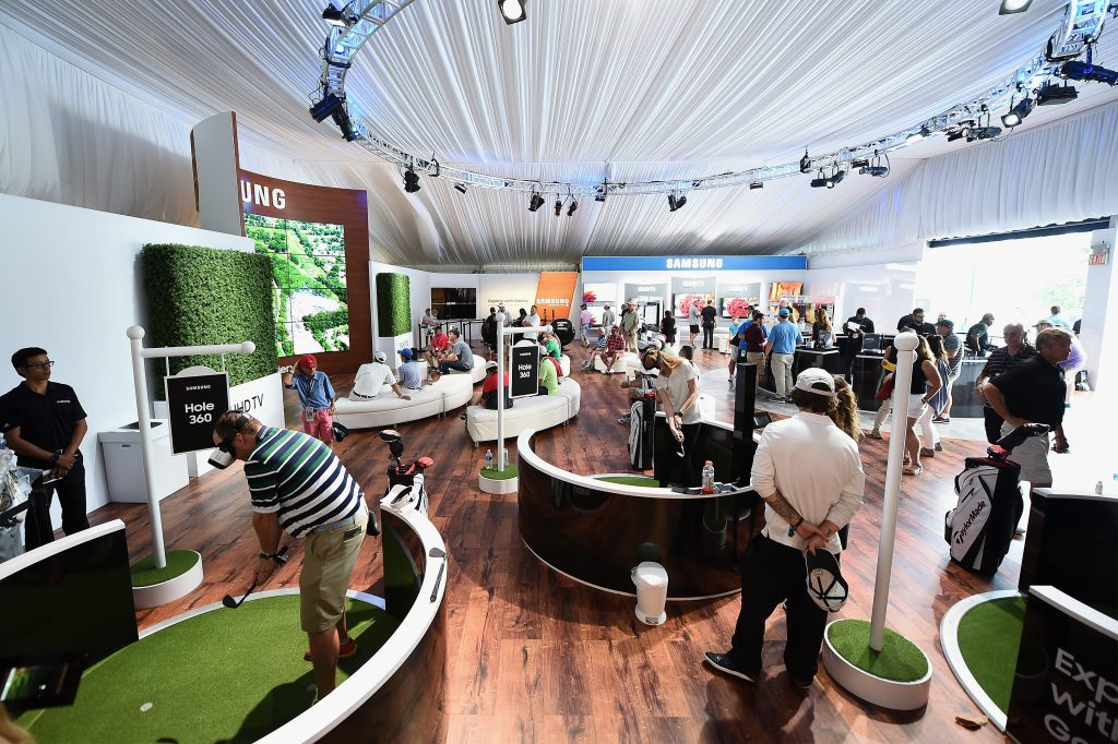 The Samsung Experience At The PGA Championship 2016, Thursday, July 28