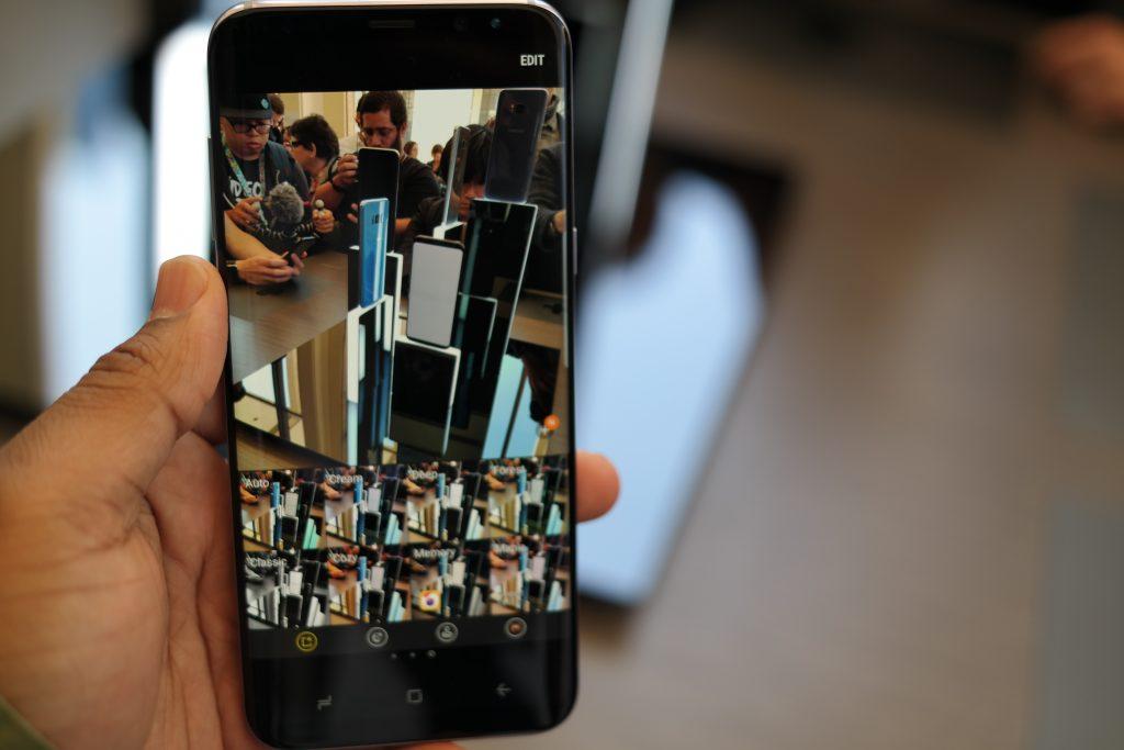 Samsung Galaxy S8 Camera Mode